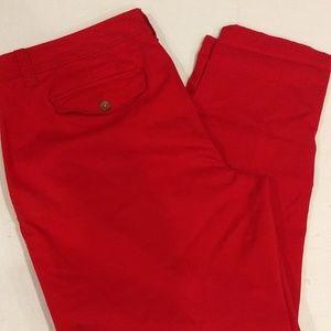 Liz Claiborne Red Casual Pants size 16